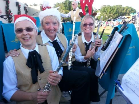 Flutes at the 2014 Mudgeeraba Christmas Carols