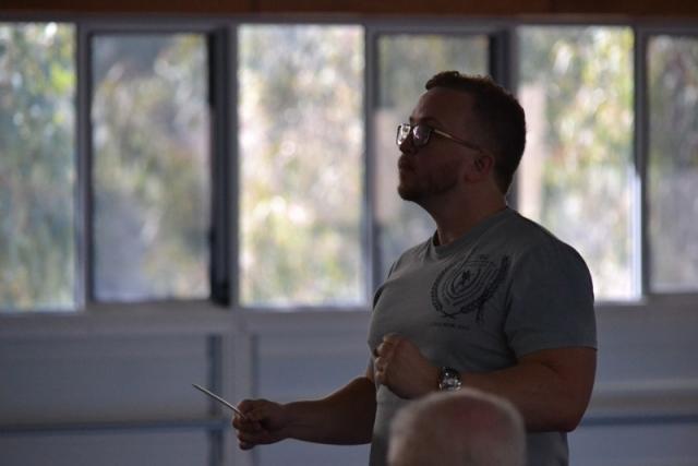 Adam Conducting