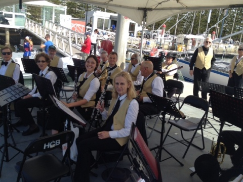 The Band at the 2014 Blessing of the Fleet