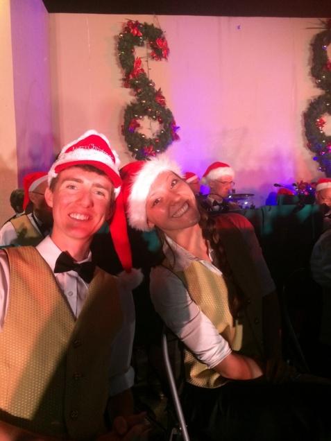 Adam and Mel at 2014 Mudgeeraba Christmas Carols