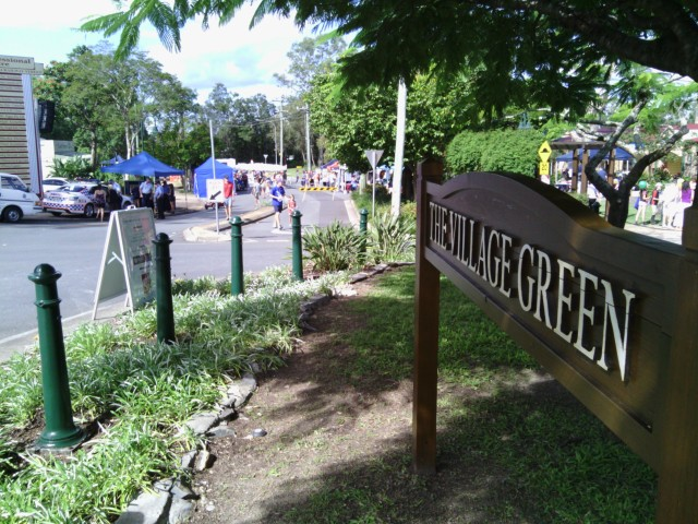Village Green at the Mudgeeraba Street Party (2013)