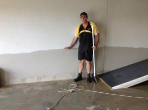 Water mark in Garage